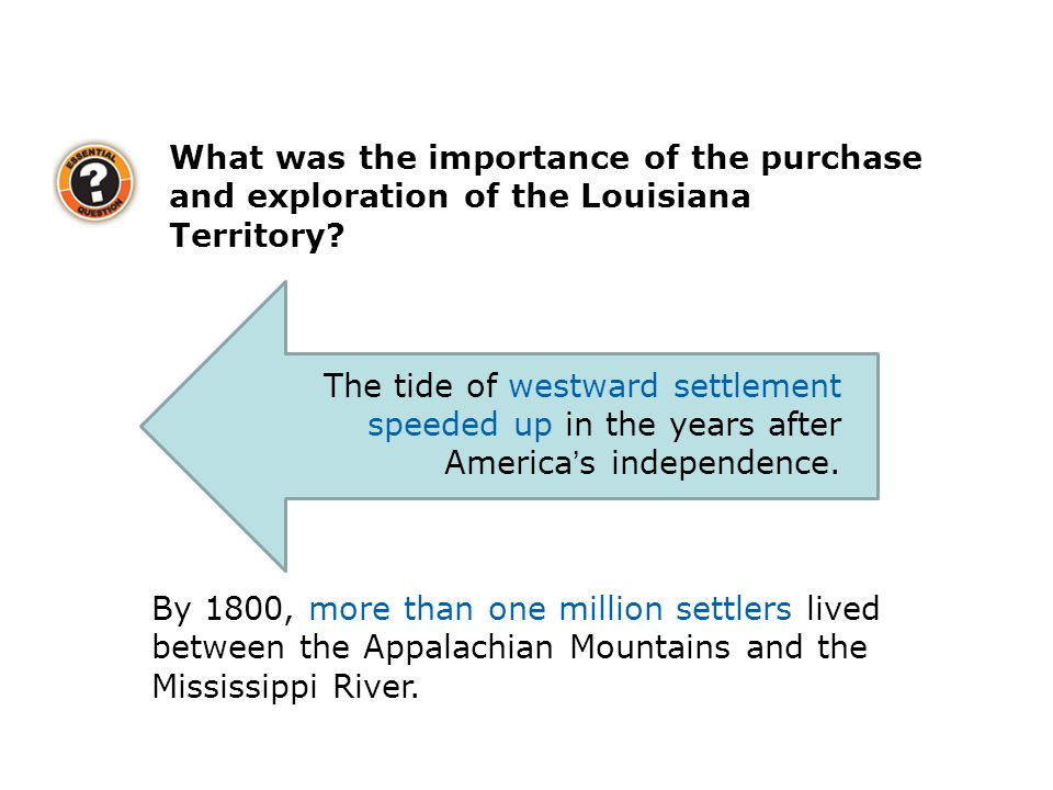 What was the importance of the purchase and exploration of the Louisiana Territory