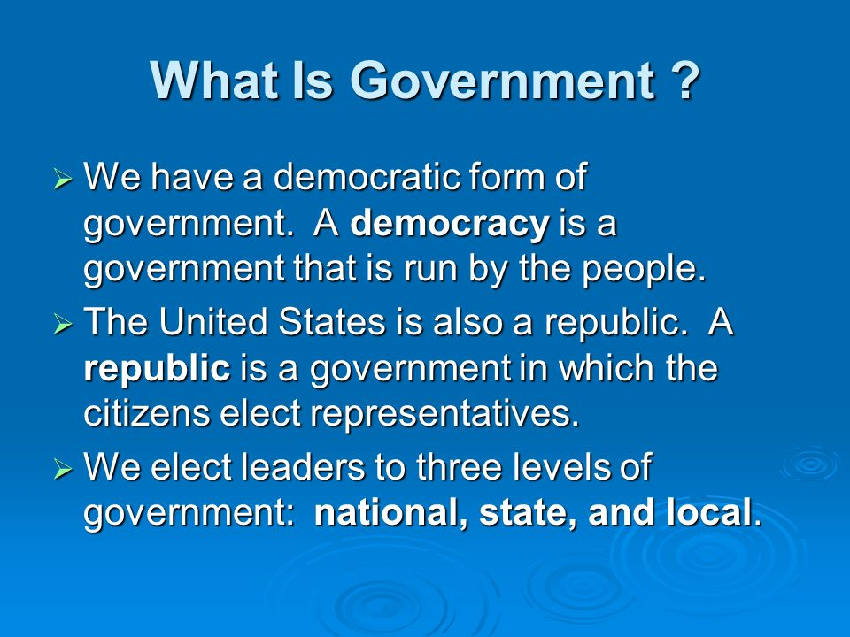 is democracy a possible form of government