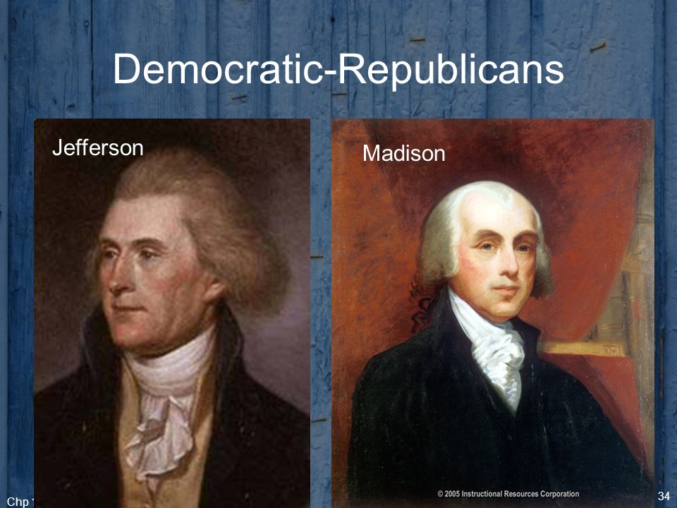 federalists and the democratic republicans Get access to federalists and democratic republicans essays only from anti essays listed results 1 - 30 get studying today and get the grades you want.