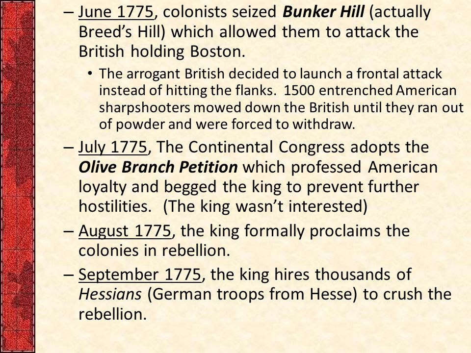 """chapter 8 america secedes from the Description apush chapter 8 """"america secedes from the empire"""" 1775-1783 2nd continental congress came together again after the battles of lexington and concord, may 10, 1775."""