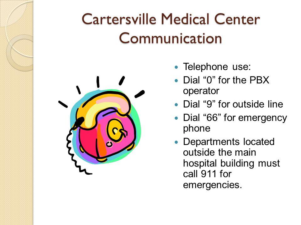 Cartersville Medical Center Communication
