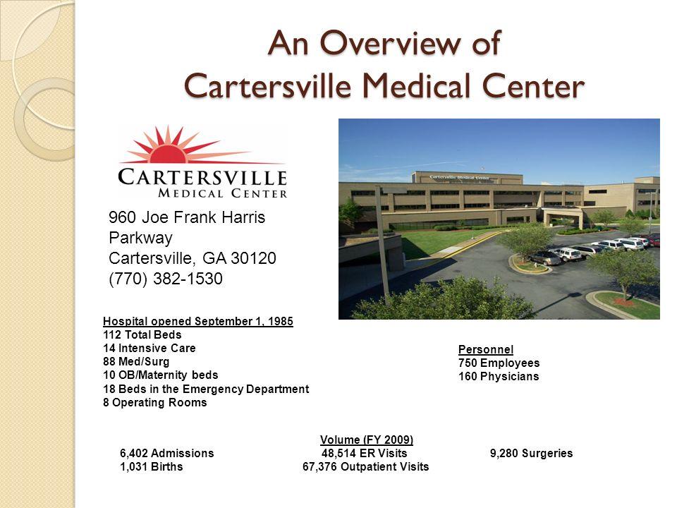 An Overview of Cartersville Medical Center