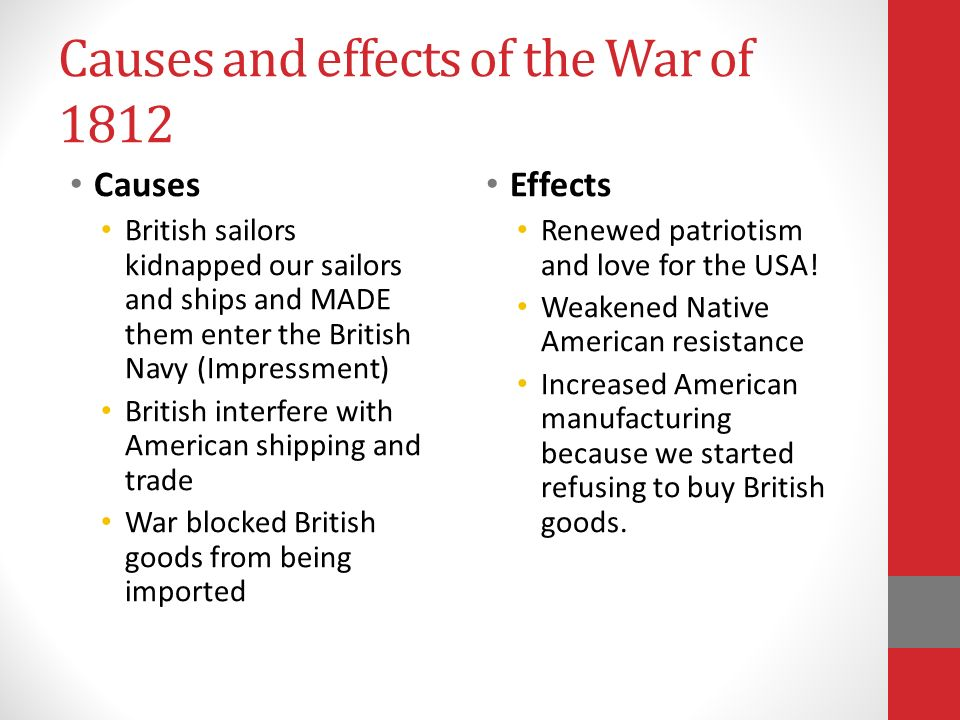 the cause and effect of a This page describes the causes and effects of the civil war and provides detailed accounts of all events.
