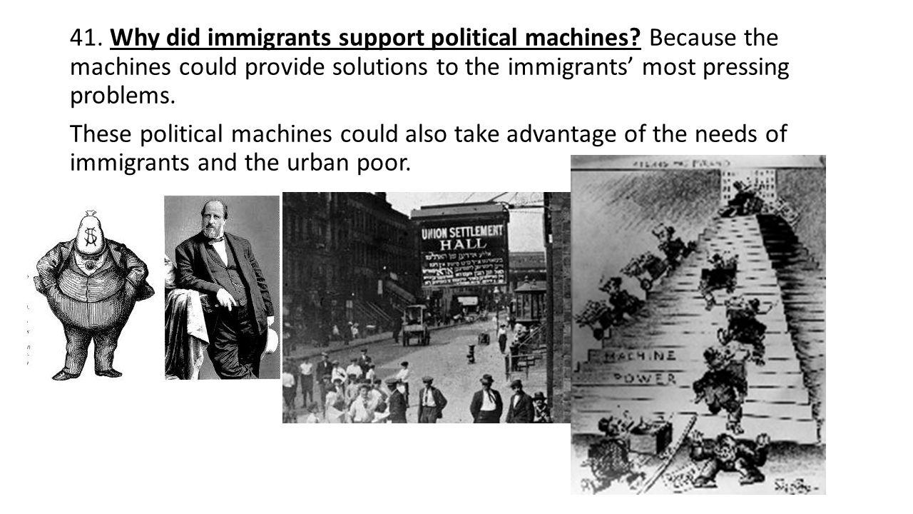 new immigrant experience and progressive era politics