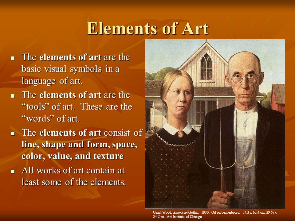 Basic Elements Of Art : Basic art hs mupuk
