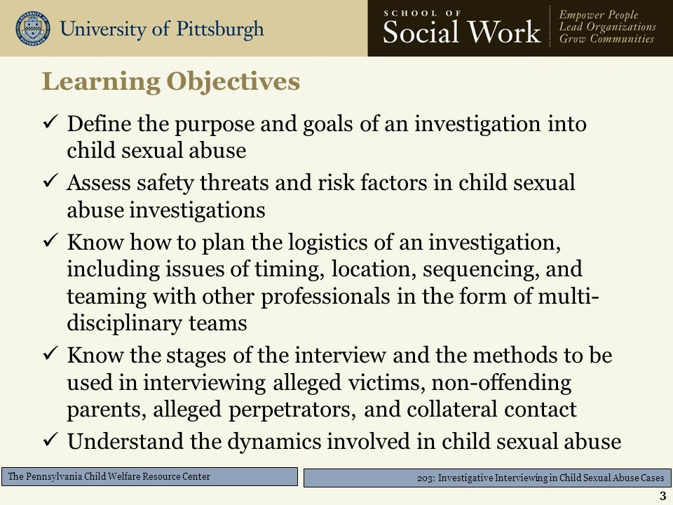 The Pennsylvania Child Welfare Training Program - ppt download