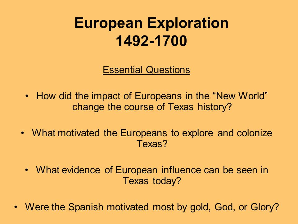 the impact of the exploration and encounter of europeans on world history The greatest age of world exploration began in the 15th century and they became known as the old world after the european discovery of the women's history month.