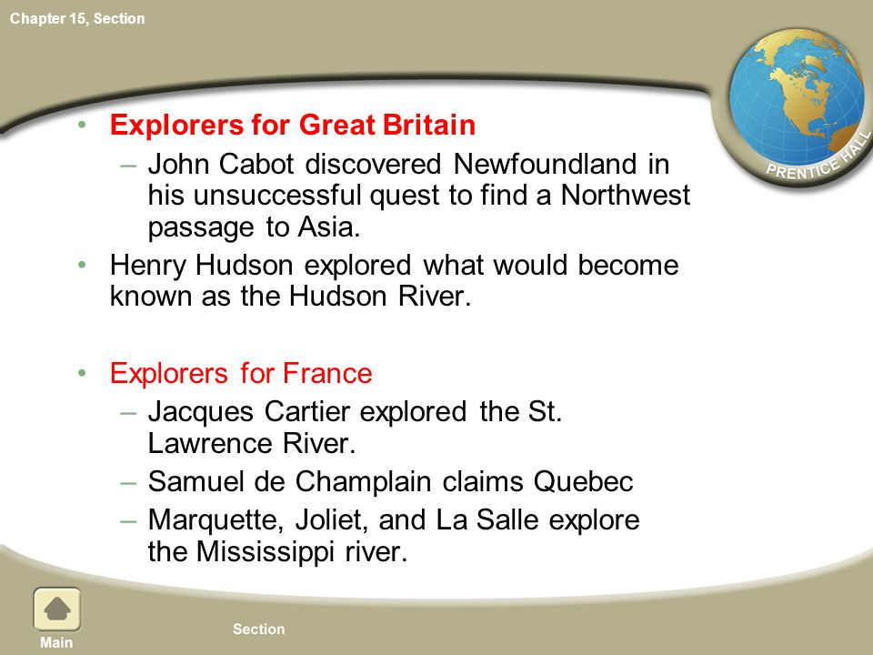 Explorers for Great Britain