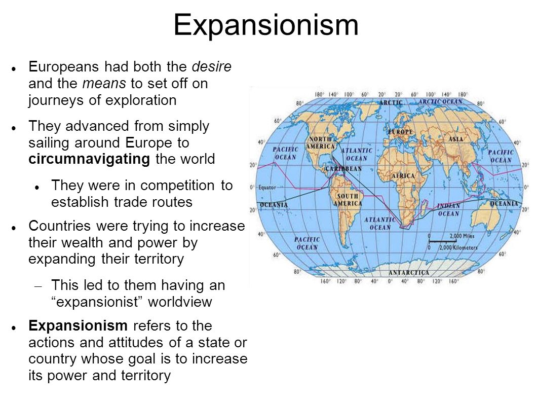 A Brief Comparison of Expansionism and Imperialism