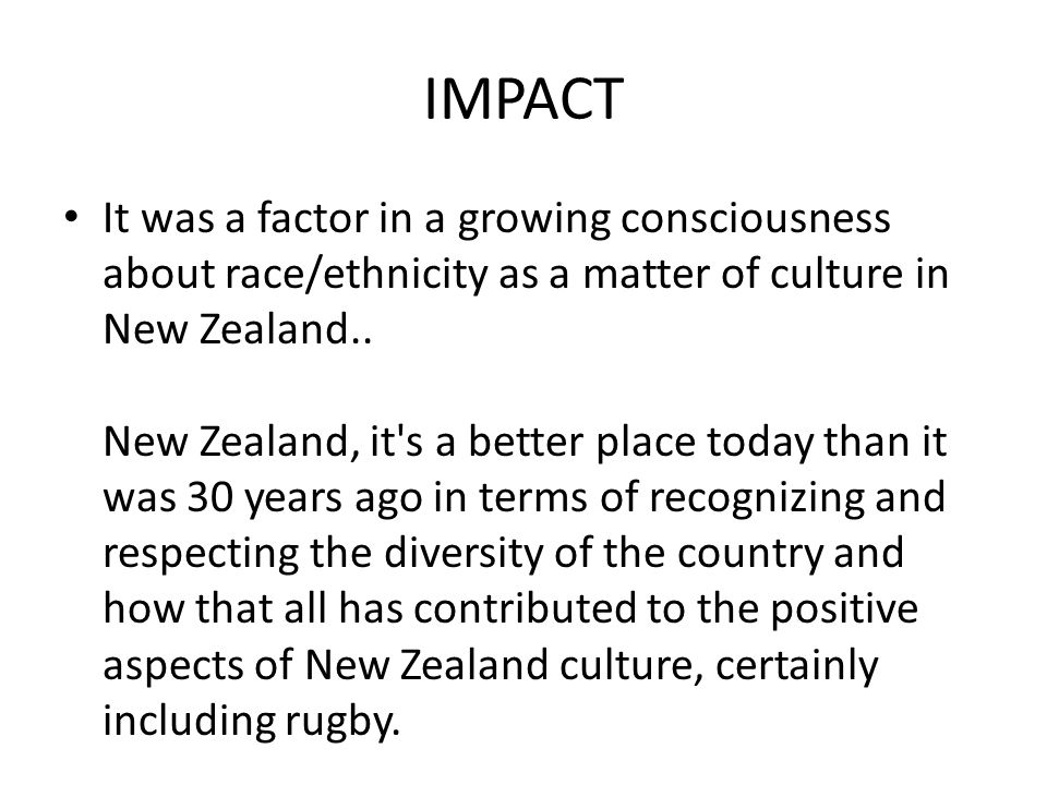 beatles impact on new zealand society New zealand - cultural life: new zealand's cultural influences are predominantly european and maori immigrant groups have generally tended to assimilate into the european lifestyle, although traditional customs are still followed by many tongans, samoans, and other pacific peoples.