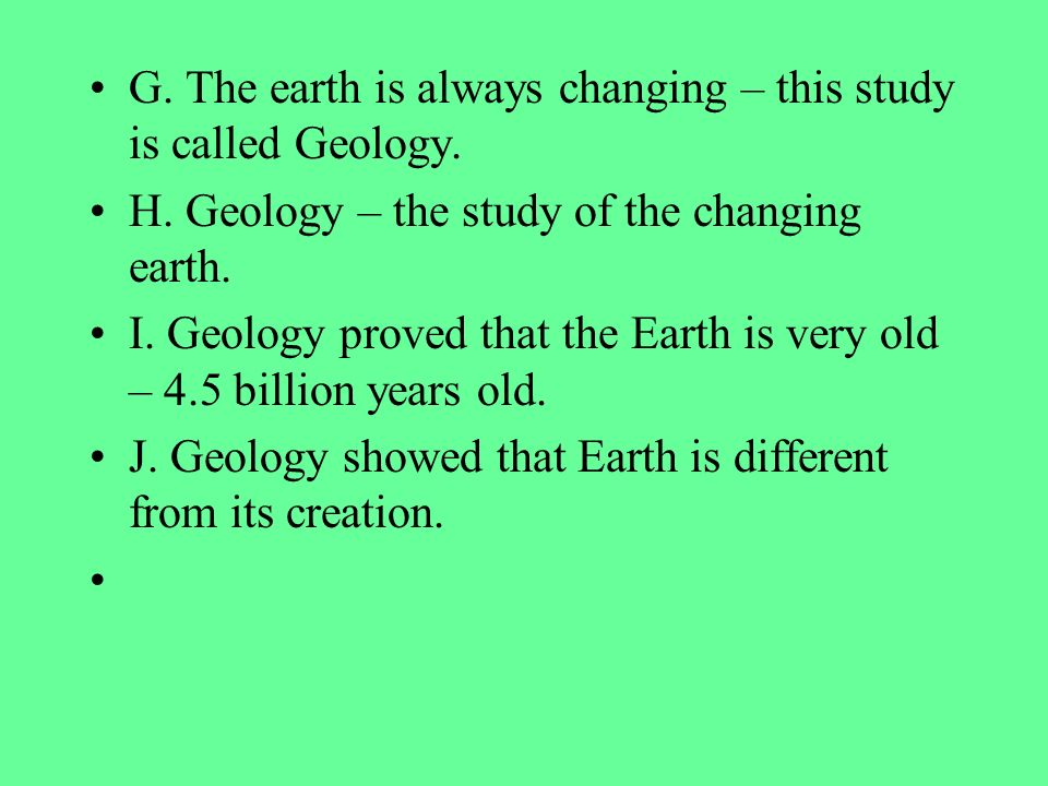 What is the study of earths science called - wiki.answers.com