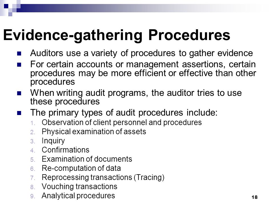 tools to gather audit evidence Audit for audit evidence to this effect5  (b) gather sufficient appropriate audit  evidence to con-  cial instruments to which the entity is exposed during the.