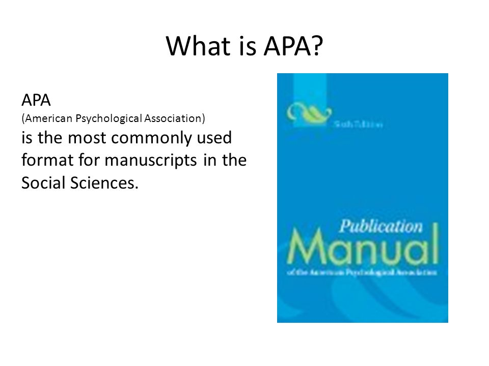 publication manual of the american psychological association 6th ed pdf