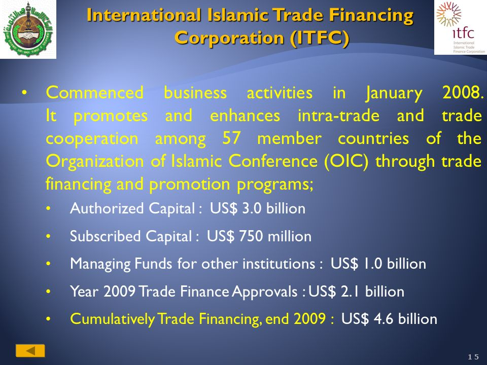 islamic trade finance Islamic trade financing it is designed to increase the efficiency of trade finance transactions processing whilst delivering a highly efficient system for.