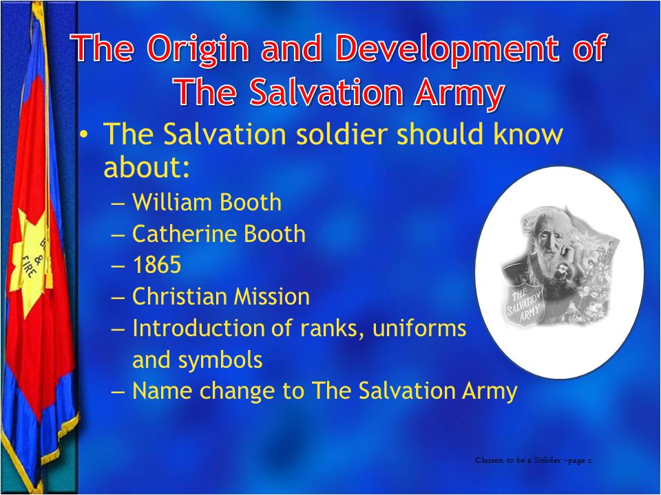 salvation army business plan Original review: sept 18, 2018 the salvation army is the worst charity i have ever donated to a friend had warned me he said that him and his wife left expensive clothing in a donation.