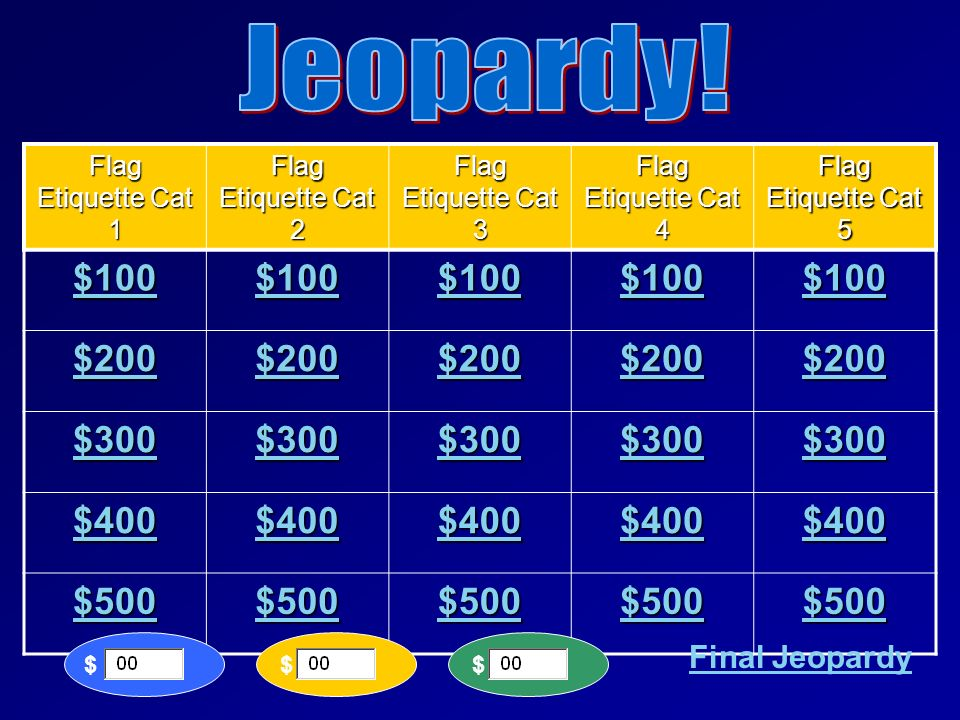 jeopardy esl how to play