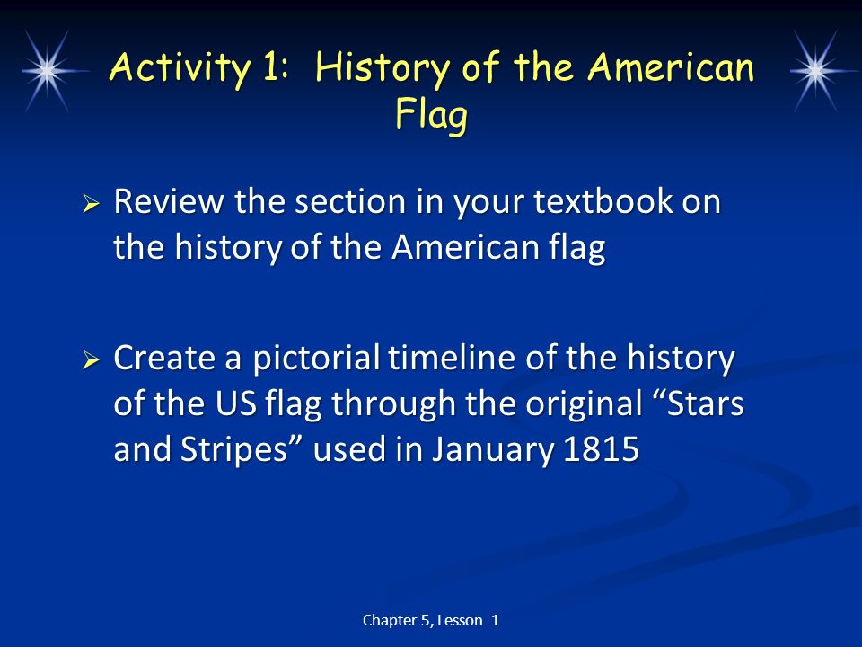 us history chapter 1 lesson 5 essay How had the history of the scots-irish affected chapter #7: the road to revolution 1 the british formally recognized the independence of the united states.