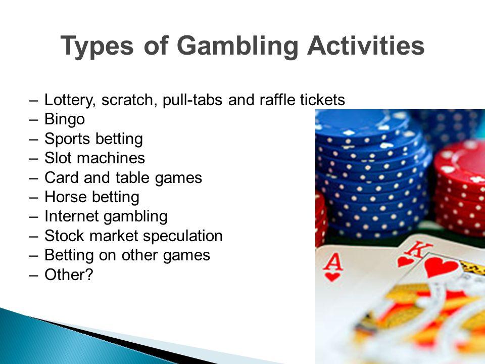 Online casino types