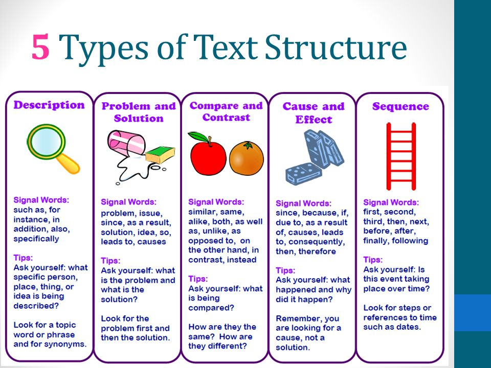 different types of text This type of written text is different from poetry in that it has complete sentences organized into paragraphs unlike poetry, prose focuses on characters and plot, rather than focusing on sounds.
