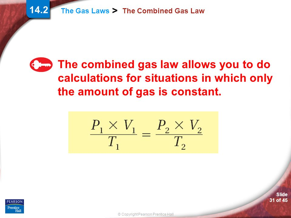 a study of the gas laws The study of gas laws 1 the corpuscular nature of matterphysics and chemistry: 3rd secondary education watching the video1.