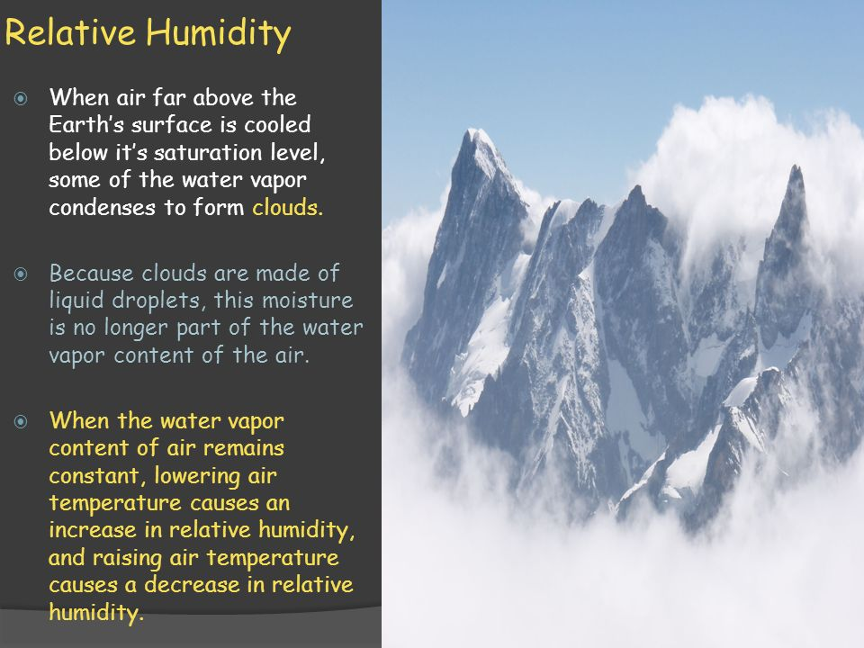 Earth Science 18.1A Water in the Atmosphere - ppt video online ...