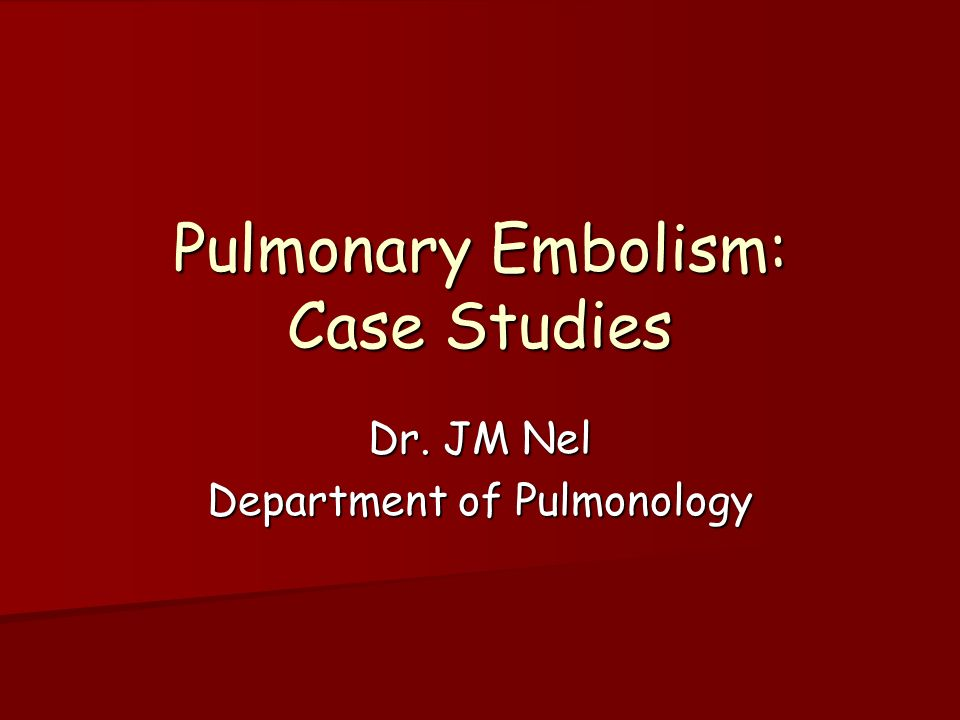 Simplified diagnostic management of suspected pulmonary ...