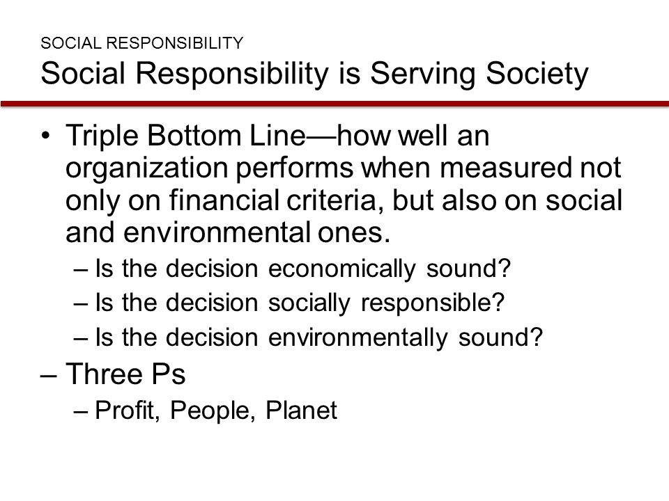 Corporate social responsibility benefits the bottom line
