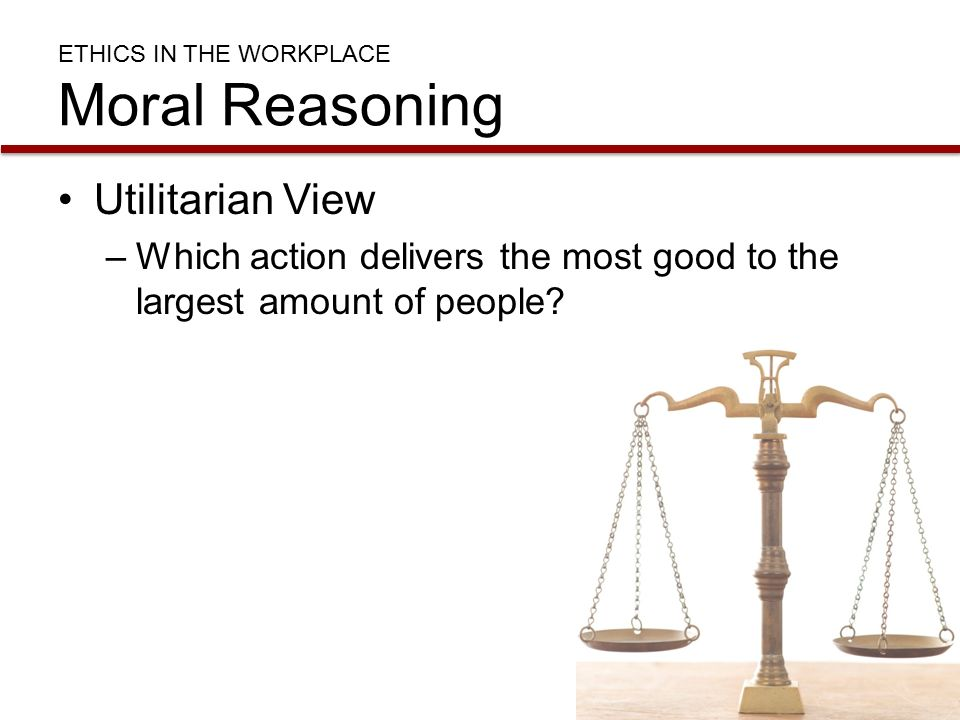 ethics and moral reasoning Moral reasoning is individual or collective practical reasoning about what, morally, one ought to do for present purpose, we may understand issues about what is right or wrong, virtuous or vicious, as raising moral question.