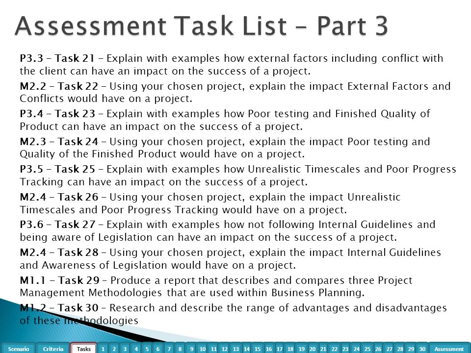 guidelines and legislation in project management