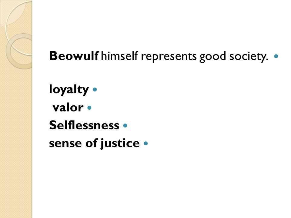 the society in beowulf an epic poem Free essays & term papers - what we can learn from the epic poem beowulf,   lead to a downfall, how outside forces can lead to the endangerment of a society, .