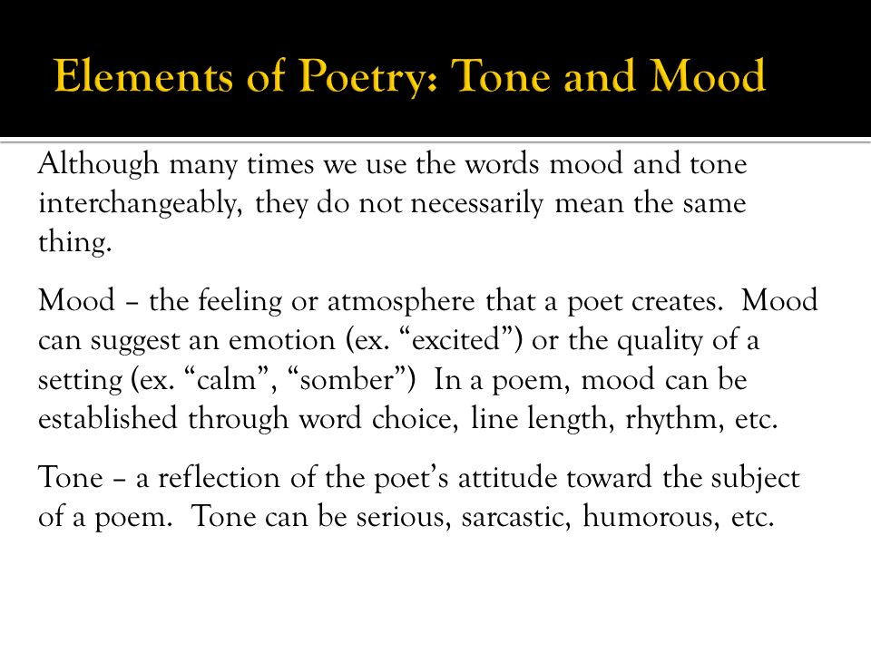how the elements of poetry indicate Elements of poetry rhyme scheme: as a continuation of rhyme, the rhyme scheme is also one of the basic elements of poetry in simple words, it is defined as the pattern of rhyme either the last words of the first and second lines rhyme with each other, or the first and the third, second and the fourth and so on.