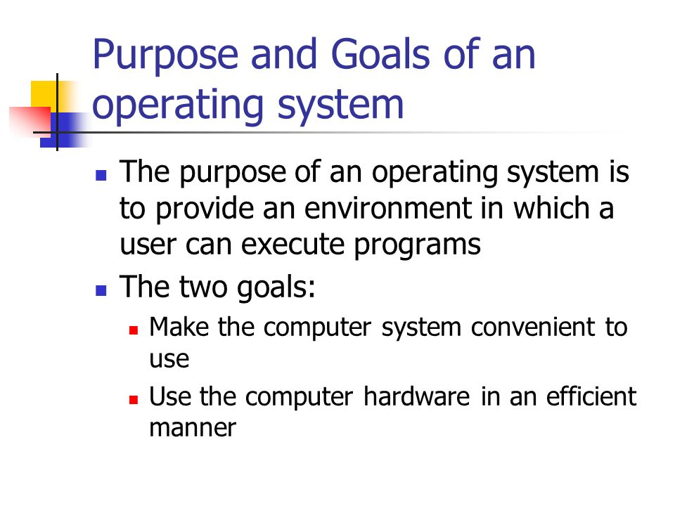 an introduction to operating systems and the basis of computer programs Introduction to operating systems  the computer hardware it also provides a basis of  of computer systems is to execute user programs and to.