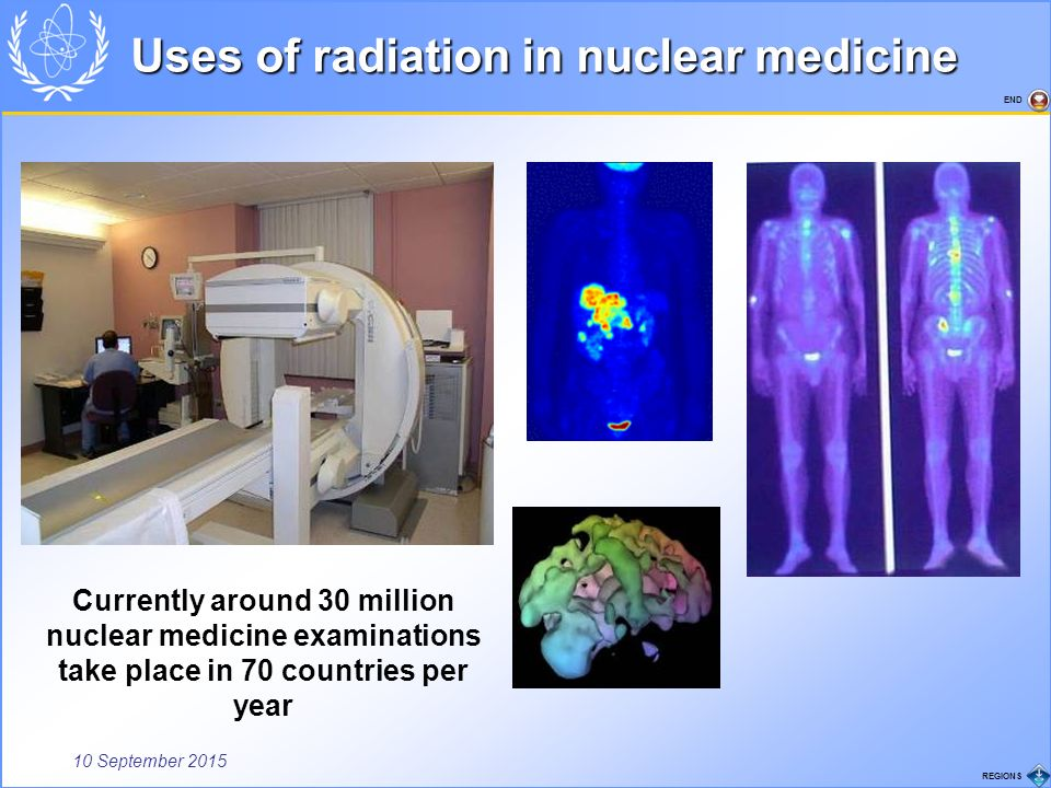 an analysis of the uses of radioactivity in medicine Benefits and risks of radiation  the sources and uses of non-ionizing radiation include sunlight,  radiation in medicine.