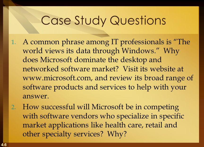 Case study writing service questions