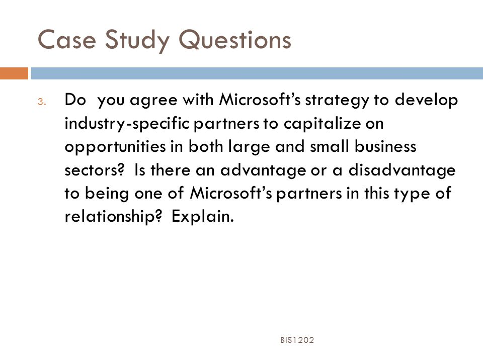 Microsoft small business case study