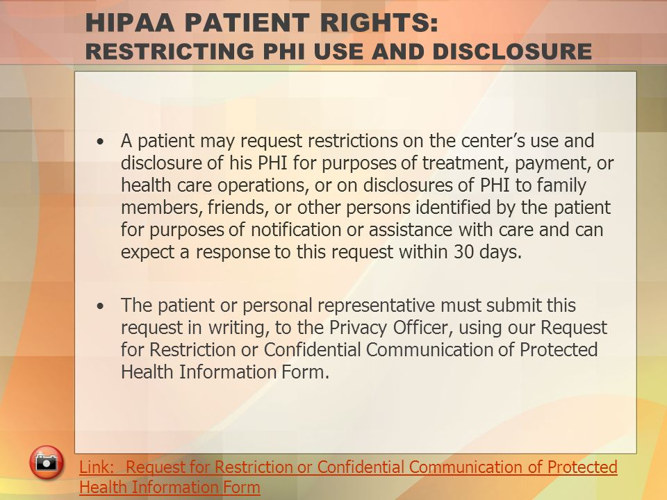 HIPAA legislation has wide-reaching impact for patients