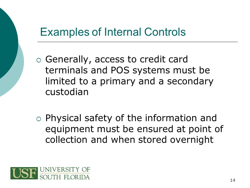 Payment Collection And Internal Controls Ppt Video