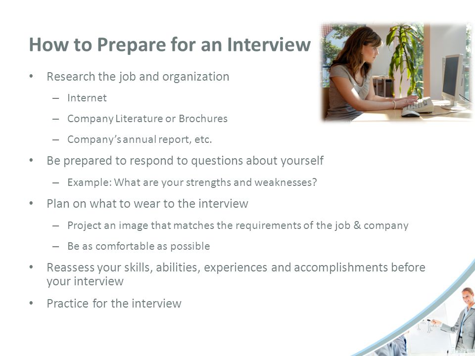 list of strengths and weaknesses for job interview