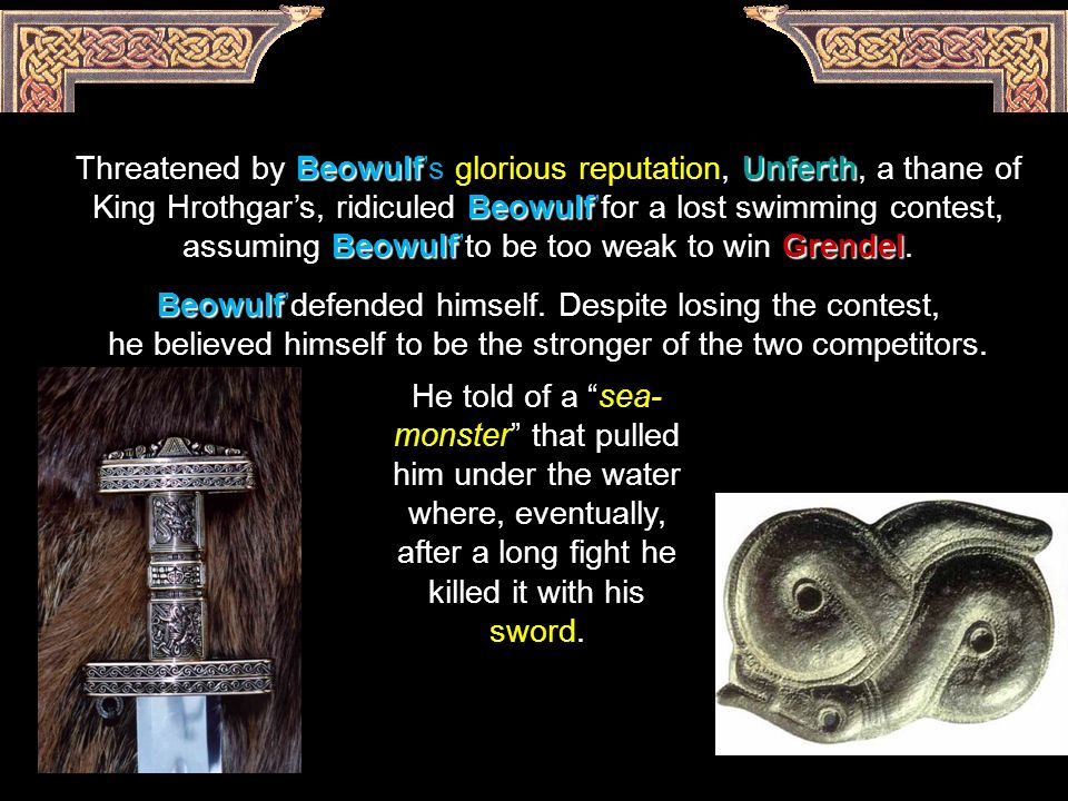 How Does Grendel's Characterization In Beowulf Differ From His Characterization In Grendel?