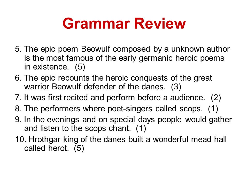 an analysis of the heroism of beowulf in the epic poem beowulf by an unknown author Epic beowulf essays - an analysis of the epic poem, beowulf - origin and evolution of beowulf essay examples - the author of the epic poem beowulf is unknown.