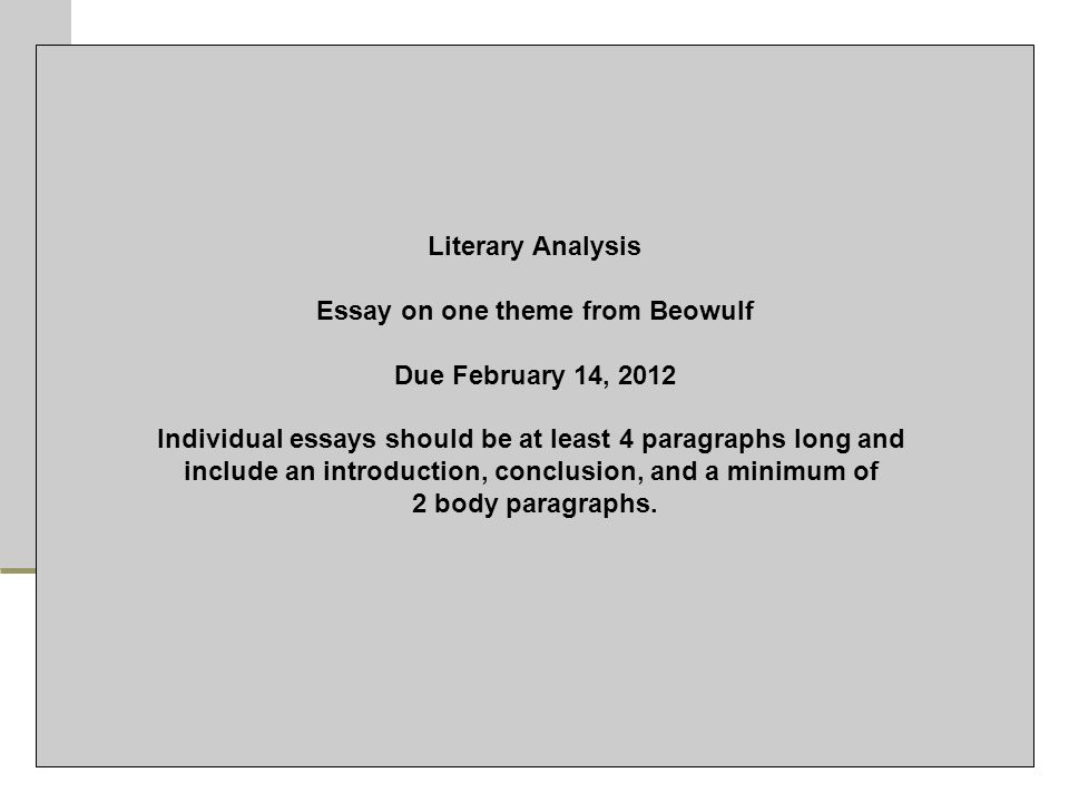 journal rant review of quarter minutes write ppt  44 essay on one theme from beowulf