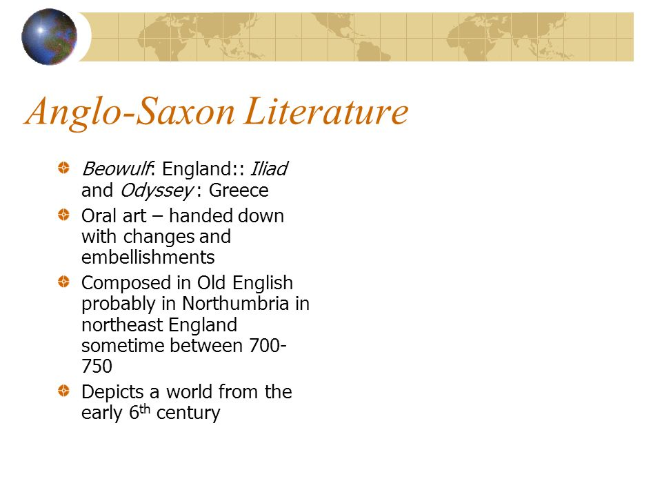 essay on anglo saxon era the folk epic beowulf