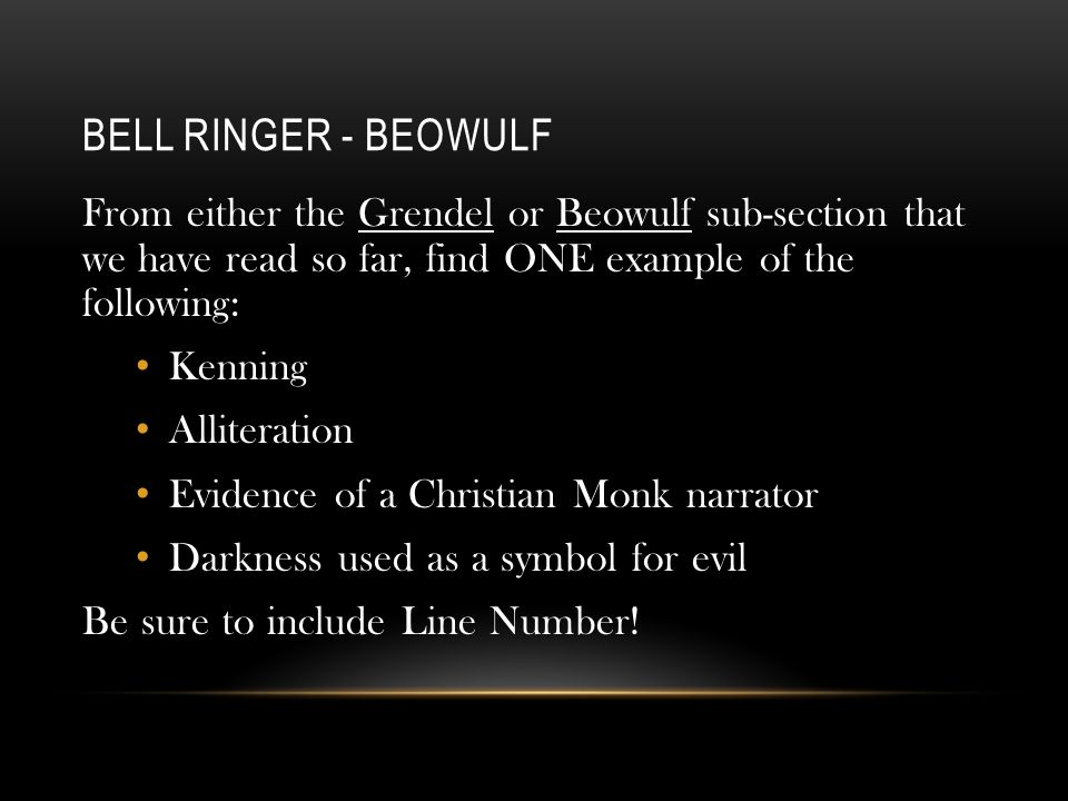 finding christianity in the character of beowulf Christianity in beowulf as the character beowulf himself states let the mentioning of good intent is an element of christianity beowulf often trusts.