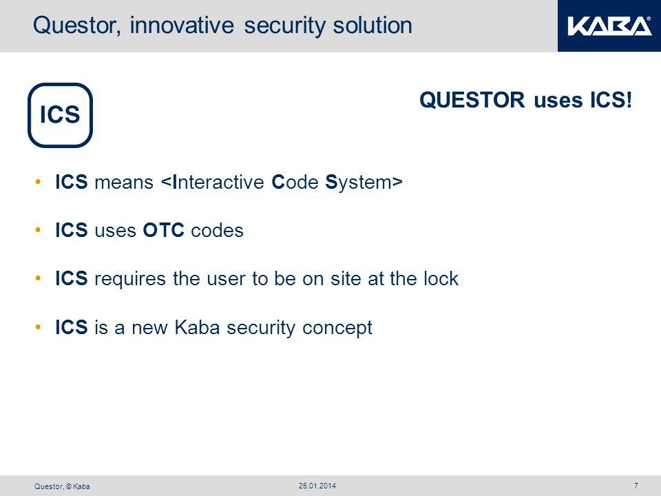 Questor, innovative security solution