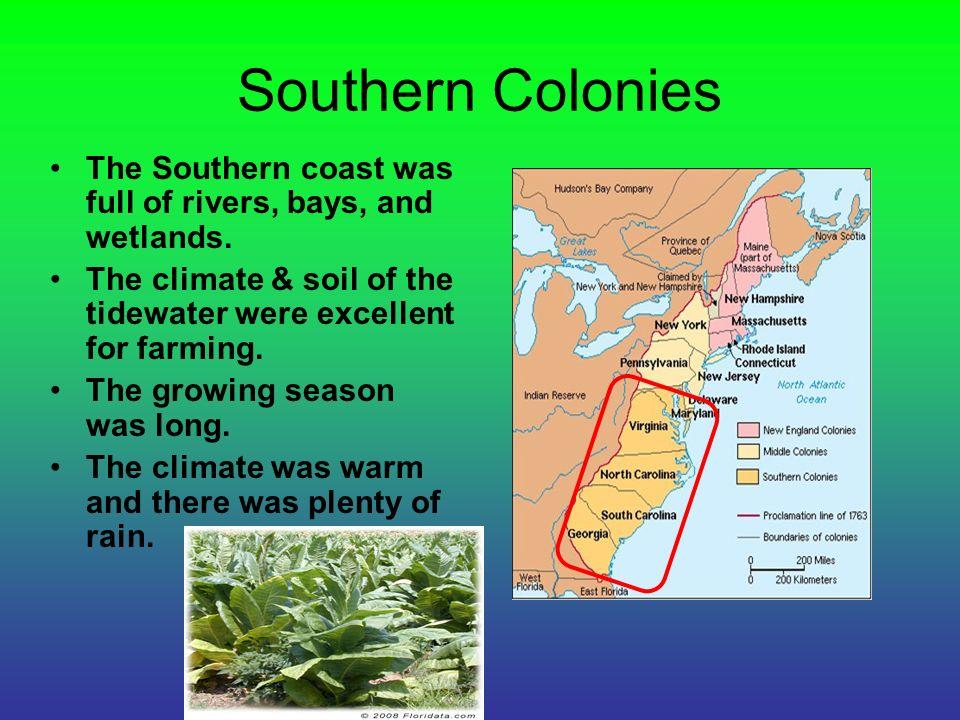Colonial Georgia Climate