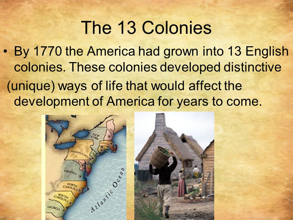 colonies developed Get an answer for 'how did the new england, middle, and southern colonies of north america settle, and how did they develop differently' and find homework help for other america: pathways.