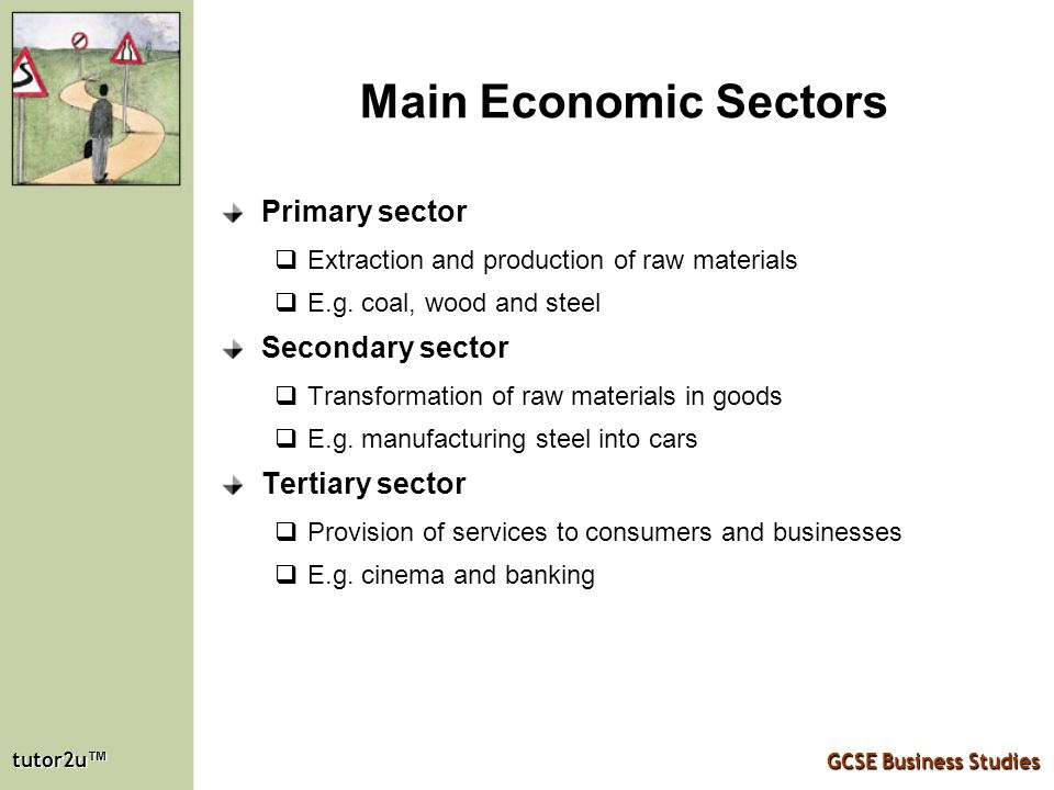 primary sector secondary sector tertiary sector essay Production of goods and services primary sector secondary sector tertiary sector under employment •workers are not producing as much as they could disguised.