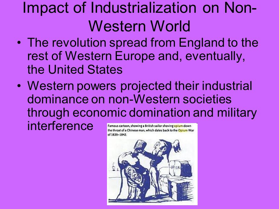 an overview of the effects of the industrial revolution in the united states You will learn about the effects of the industrial revolution on living and working  as other countries in europe and north america industrialized, they too.