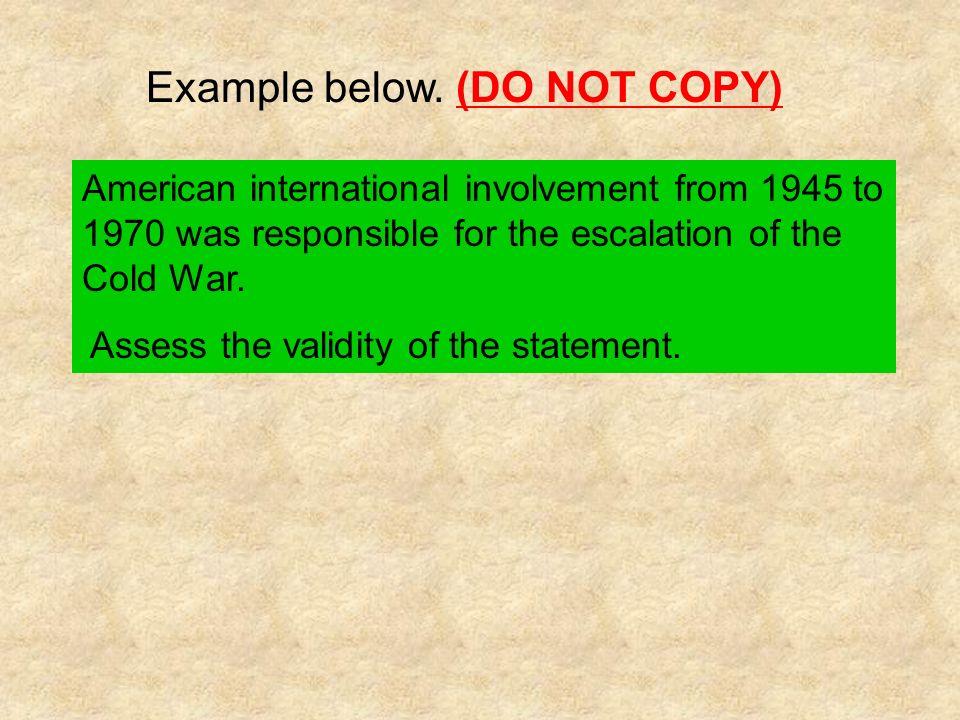 Example below. (DO NOT COPY)