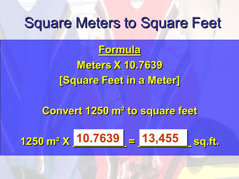 Meters To Square Foot Home Mansion